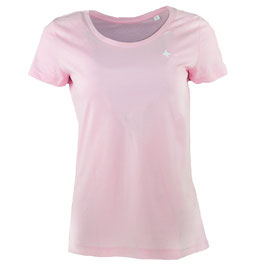 honourebel Women's BRAND RAY light T-shirt - AnemonePink/White