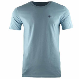 honourebel Men's RAY BRANDED T-shirt CloudyLagoonBlue/Anthracite