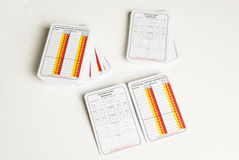 Referee notice cards 500 pc.