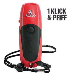 Sifflet électronique Fox 40 avec batterie