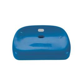 Der Sport-Thieme Tribünensitz bietet dank des ergonomischen Designs größtmöglichen Sitzkomfort bei Sportveranstaltungen Blau