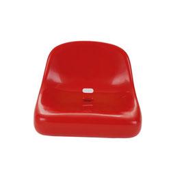 Sport-Thieme® Tribünensitz flach Höchster Sitzkomfort bei Ihren Sportveranstaltungen ROT