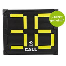 CALL Ersatzspieler-Aufruftafel