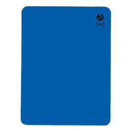Tarjeta disciplinaria del árbitro, azul