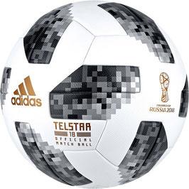 """Adidas® Fußball """"Telstar 18 OMB"""" Offizieller Spielball der Fußball-WM 2018"""