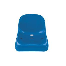 Sport-Thieme® Tribünensitz lang Bequemer Sitz für langes Stadionvergnügen Blau
