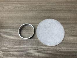 Warmluft- Filtersatz 2D