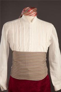 Camisa de Lino Bordada