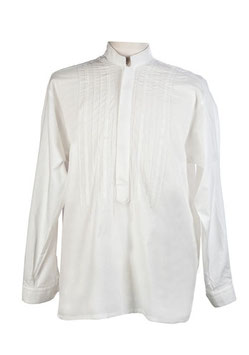 Camisa de Lino entredos