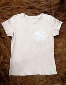"""T-Shirt, Damen, """"Vino No"""", altrosa"""
