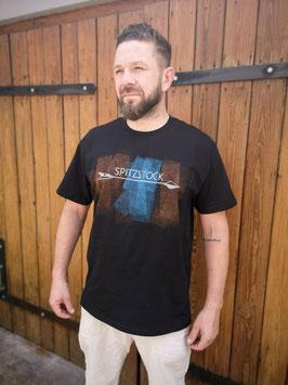 T-Shirt, Herren, Linoldruck