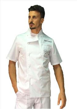 Giacca chef basic Uomo Bianca M/C RITROVO DELLO CHEF