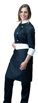 Completo Cuoco Lady Nero/Panna