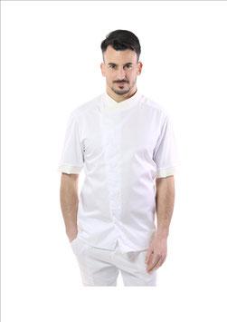 Giacca cuoco uomo Jessy M/C bianco
