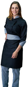 Completo Cuoco Lady Nero/Pied de Poule