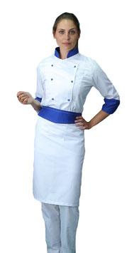 Completo Cuoco Lady Bianco/Royal