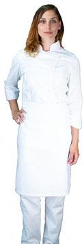 Completo Cuoco Lady Bianco