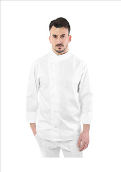 Giacca cuoco uomo Jessy Bianco