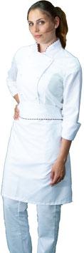 Completo Cuoco Lady Bianco/Italia
