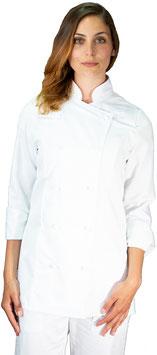 Giacca cuoco Lady Bianco