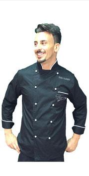 Giacca chef Uomo Nero/Bianco M/L RITROVO DELLO CHEF