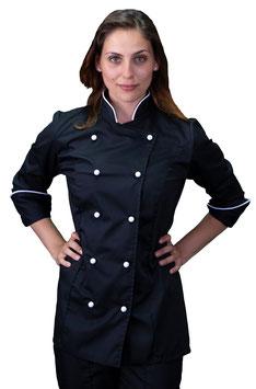 Giacca cuoco Strass Donna