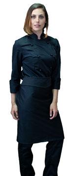 Completo Cuoco Lady Nero