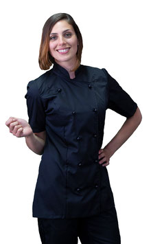Giacca cuoco Lady M/C Nero