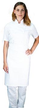Completo Cuoco Lady M/C Bianco