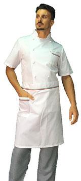 Completo Cuoco Italia, Manica corta