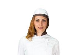 Bandana Bianca/Marrone