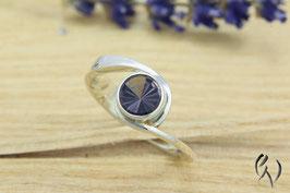 Ring Silber 925/- mit grauviolettem Turmalin