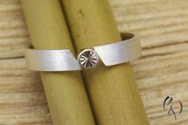 Ring Silber 925/- mit rosa Turmalin