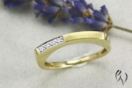 Ring Gold 585/- mit Brillant