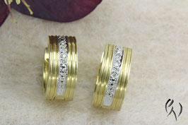 Creole Gold 585/- mit Diamanten