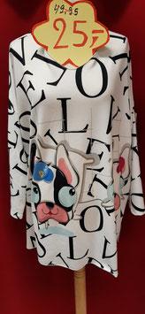 Pullover Buchstaben in Big Size