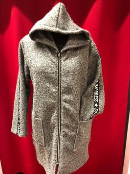 Sportliche Wolljacke in silber