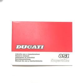 Owner manuals Ducati 851-888