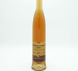 Weinbergpfirsich-Chili-Honig Likör