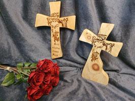 Kruzifix, Zirbenkreuz