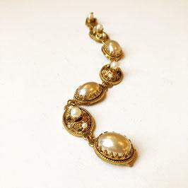Vintage Pretty Chunky Pearl Bracelet, 1950s