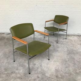 Gijs van der Sluis Easy Chair, 1970s
