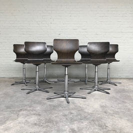 Dining Chairs by Adam Stegner for Flötotto, 1970s