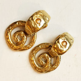 Original Ear Clips Jacques Esterel, 1960s