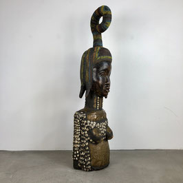 Large Symbolic Wooden Bust, West Africa, early 20th century