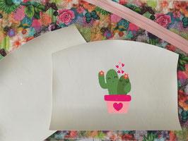 Kit pochette cactus