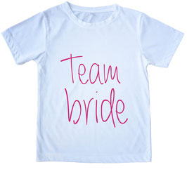 Team bride, bianco