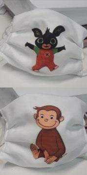 Mascherina bambino con stampa personalizzata