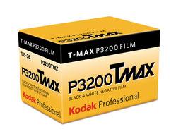 KODAK : T-Max P3200 TMZ (Prix à l'unité)