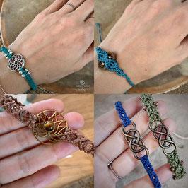 "NEU Armbänder ""Knots"" und ""Lotus"""